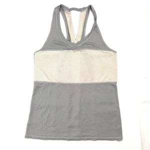 Lululemon Women's Size 6 Tank Top Athletic Gray
